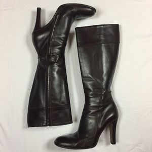 J Crew Tall Leather Boots